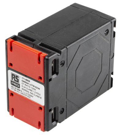 RS PRO Clip Fit Current Transformer, , 62 x 40mm diameter , 10A Input, 5 A Output, 10:5