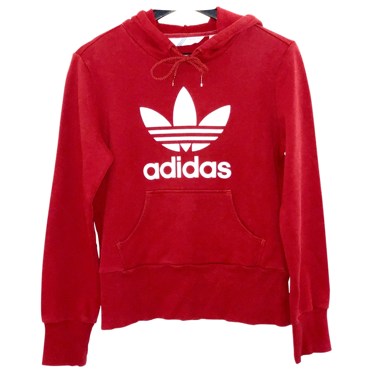 Adidas \N Pullover in  Rot Baumwolle
