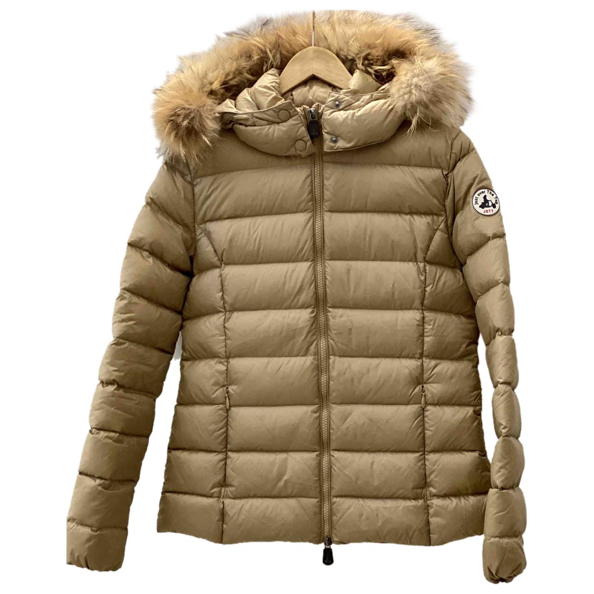Jott N Gold Leather jacket for Women 38 FR