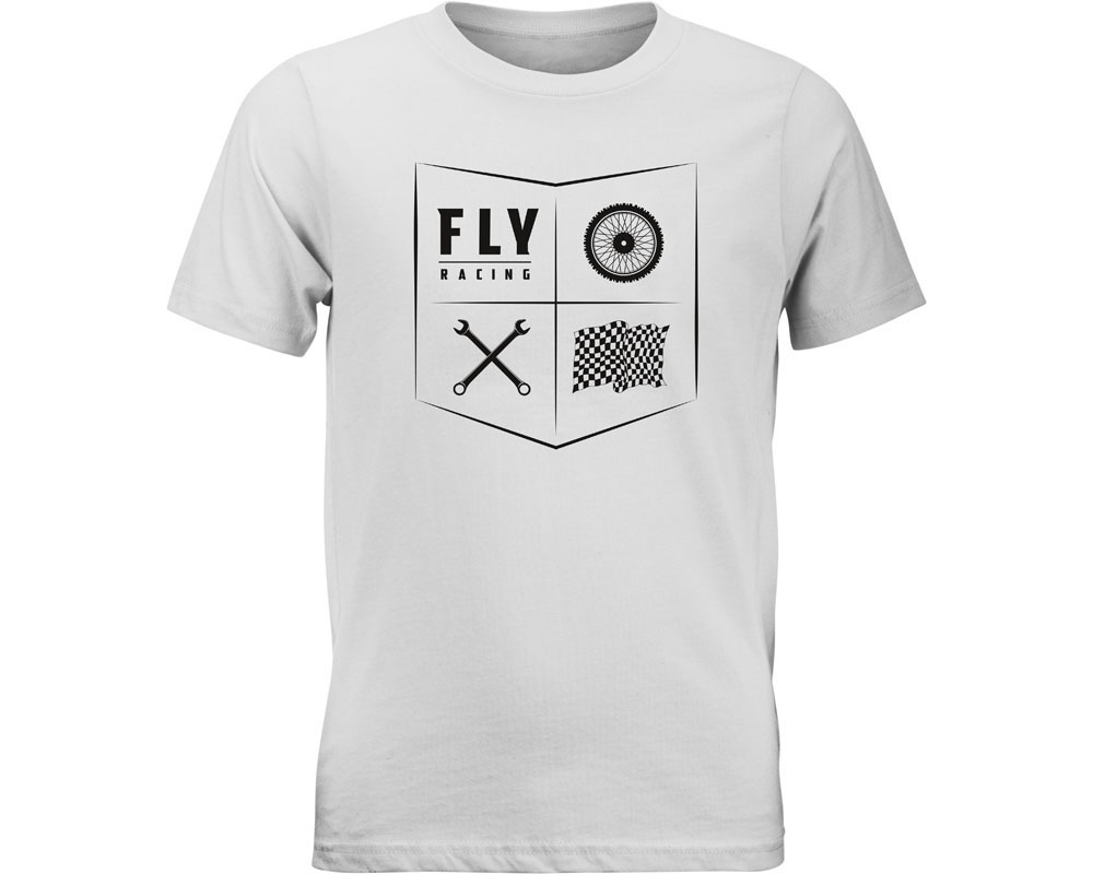 Fly Racing 352-1206YM Youth All Things Moto Tee