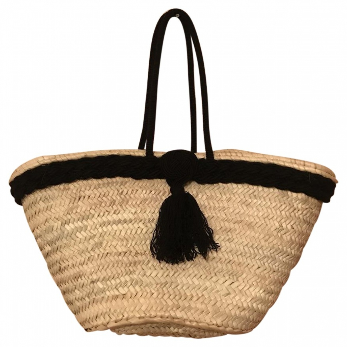 Non Signé / Unsigned \N Beige Wicker handbag for Women \N