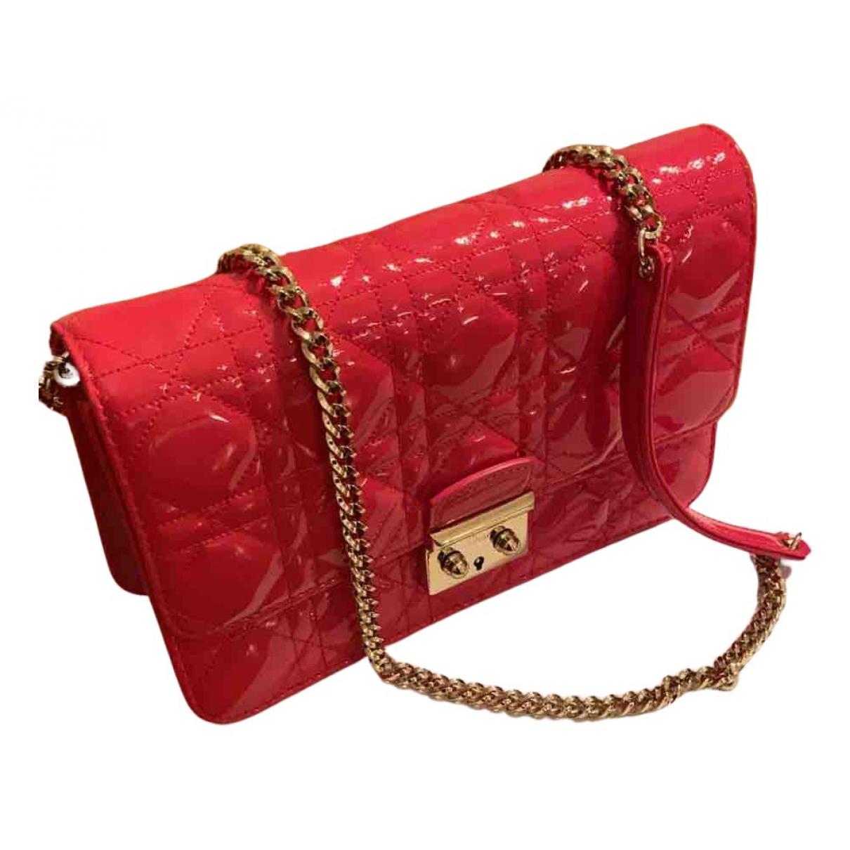 Dior Miss Dior Handtasche in  Rosa Lackleder