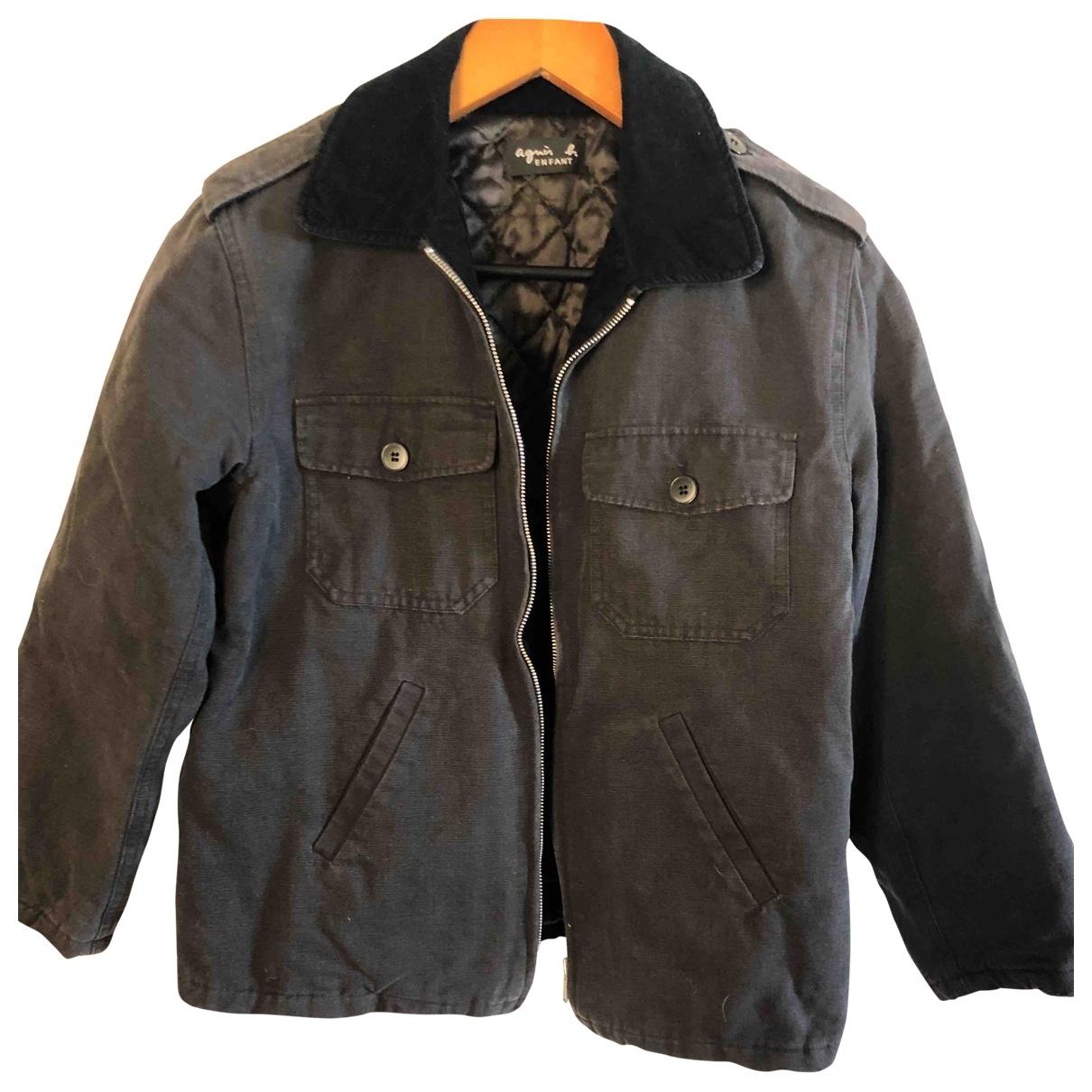 Agnès B. \N Black Cotton jacket & coat for Kids 12 years - XS FR