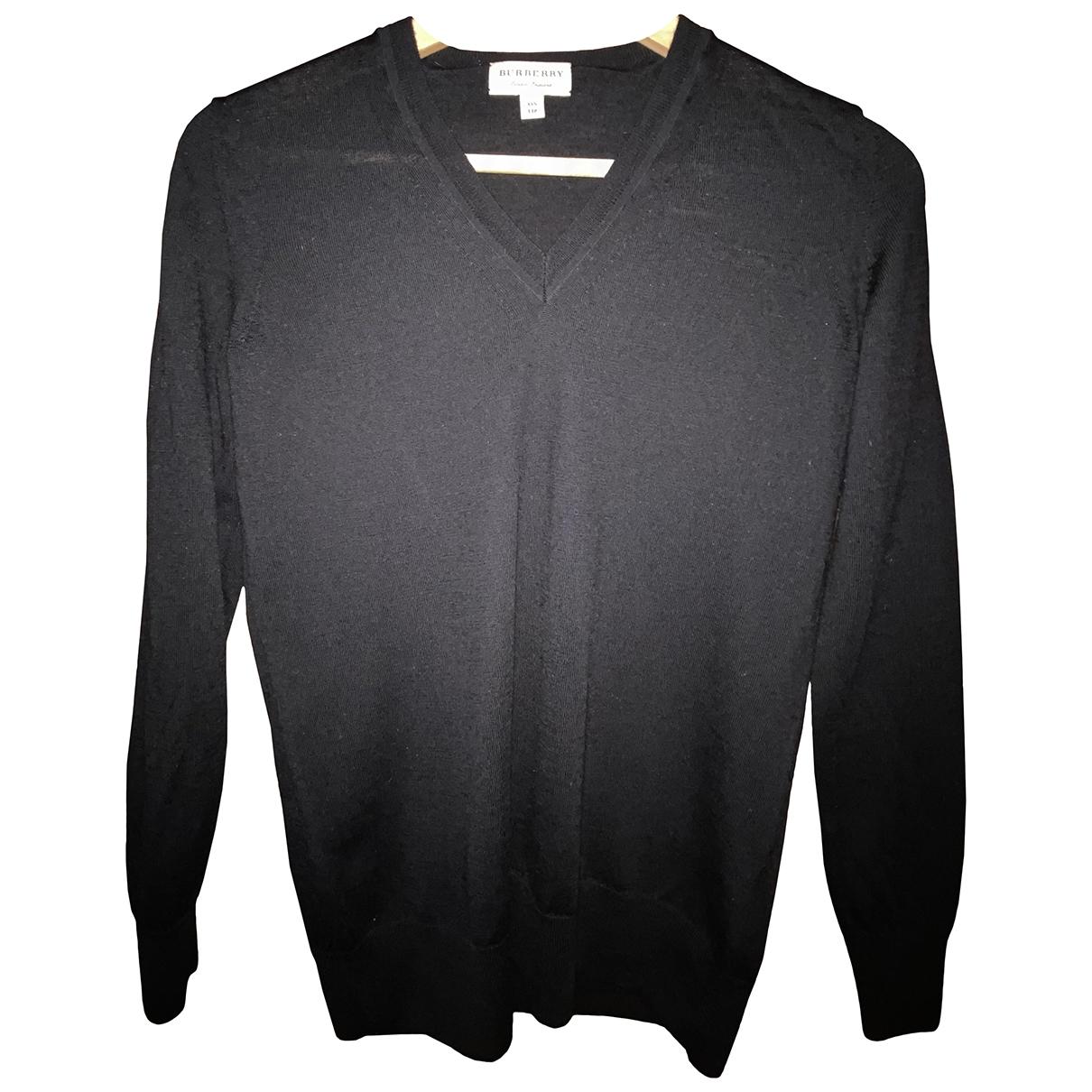 Burberry \N Black Wool Knitwear for Women 32 FR