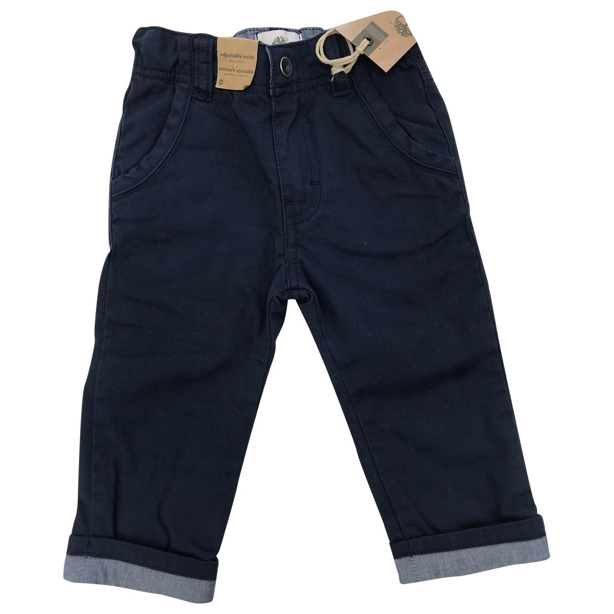 Pantalones en Algodon Azul Timberland