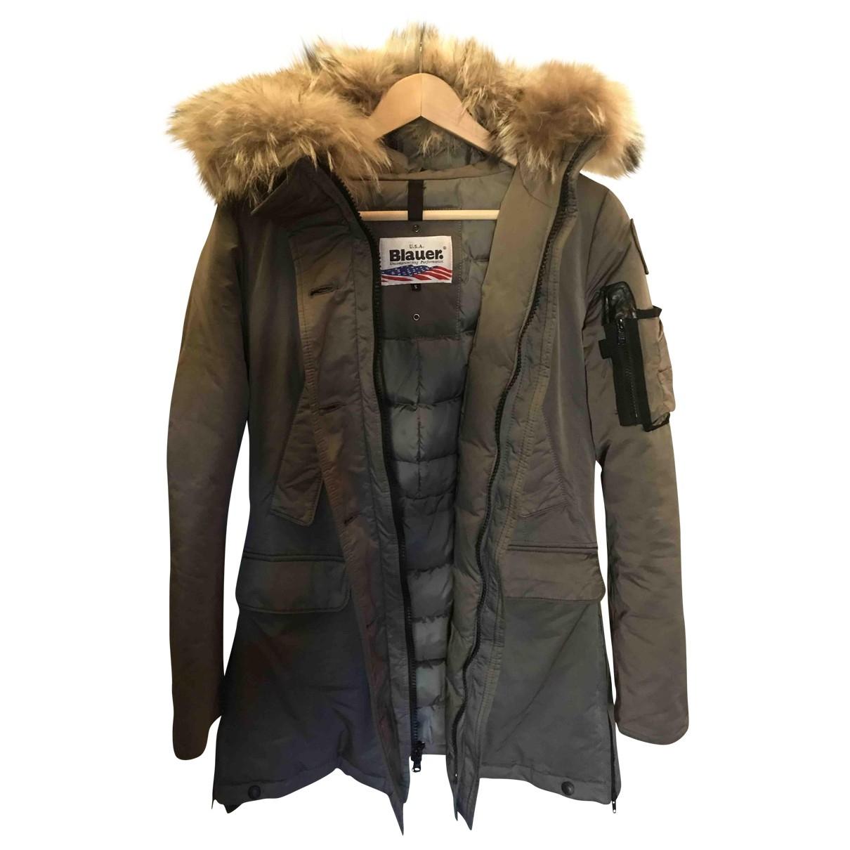 Blauer \N Khaki coat for Women S International