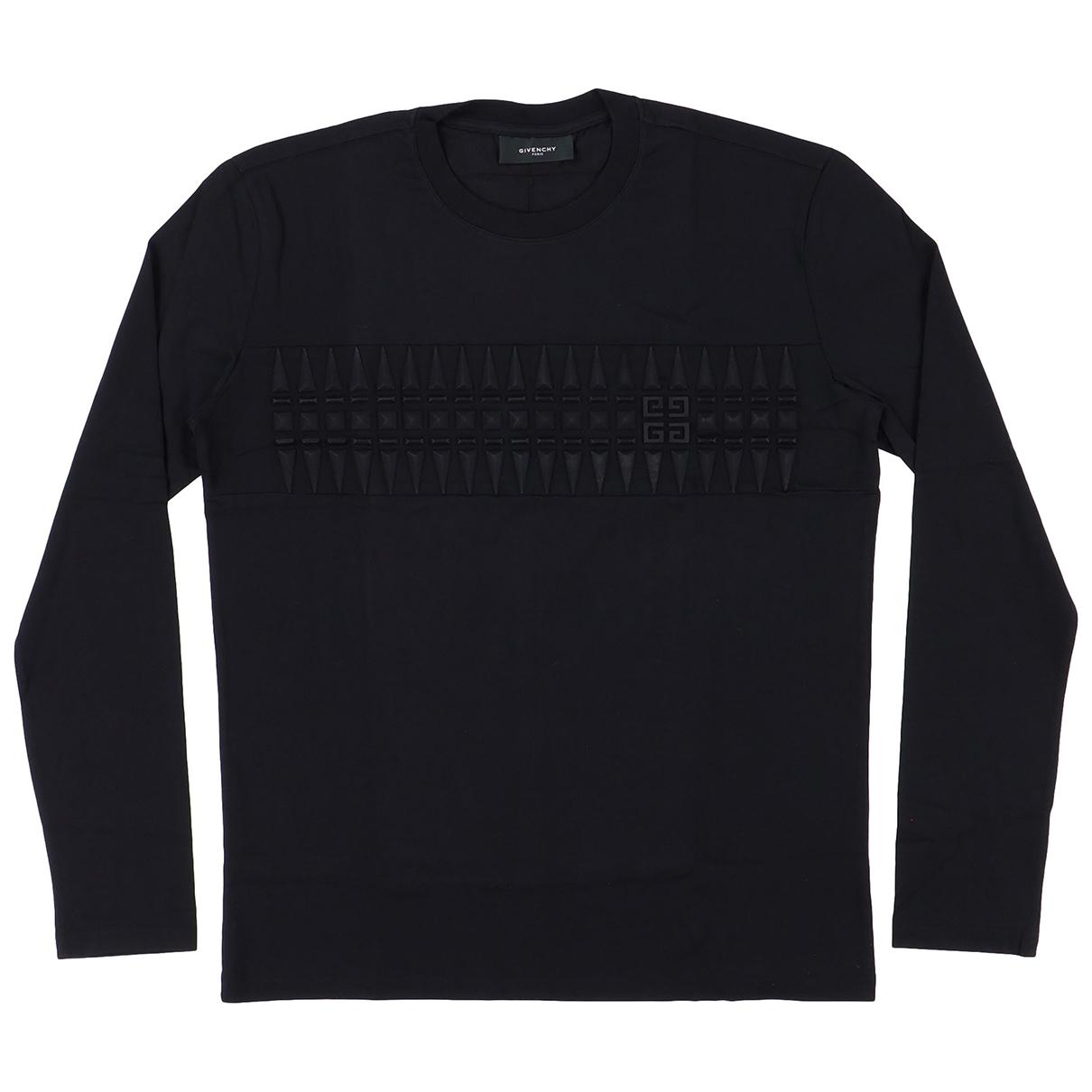 Givenchy N Black Cotton T-shirts for Men L International