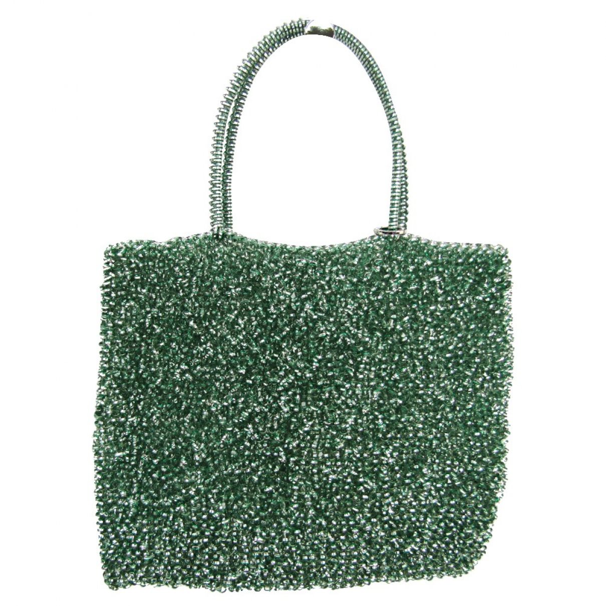 Non Signé / Unsigned \N Green handbag for Women \N