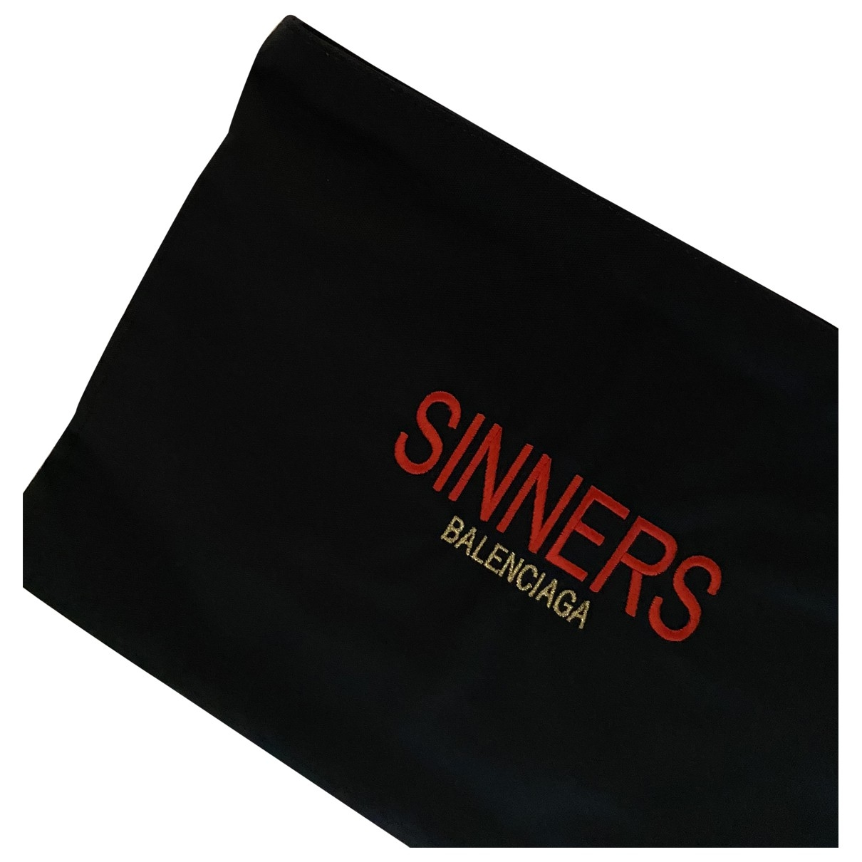 Balenciaga \N Black Cloth Clutch bag for Women \N