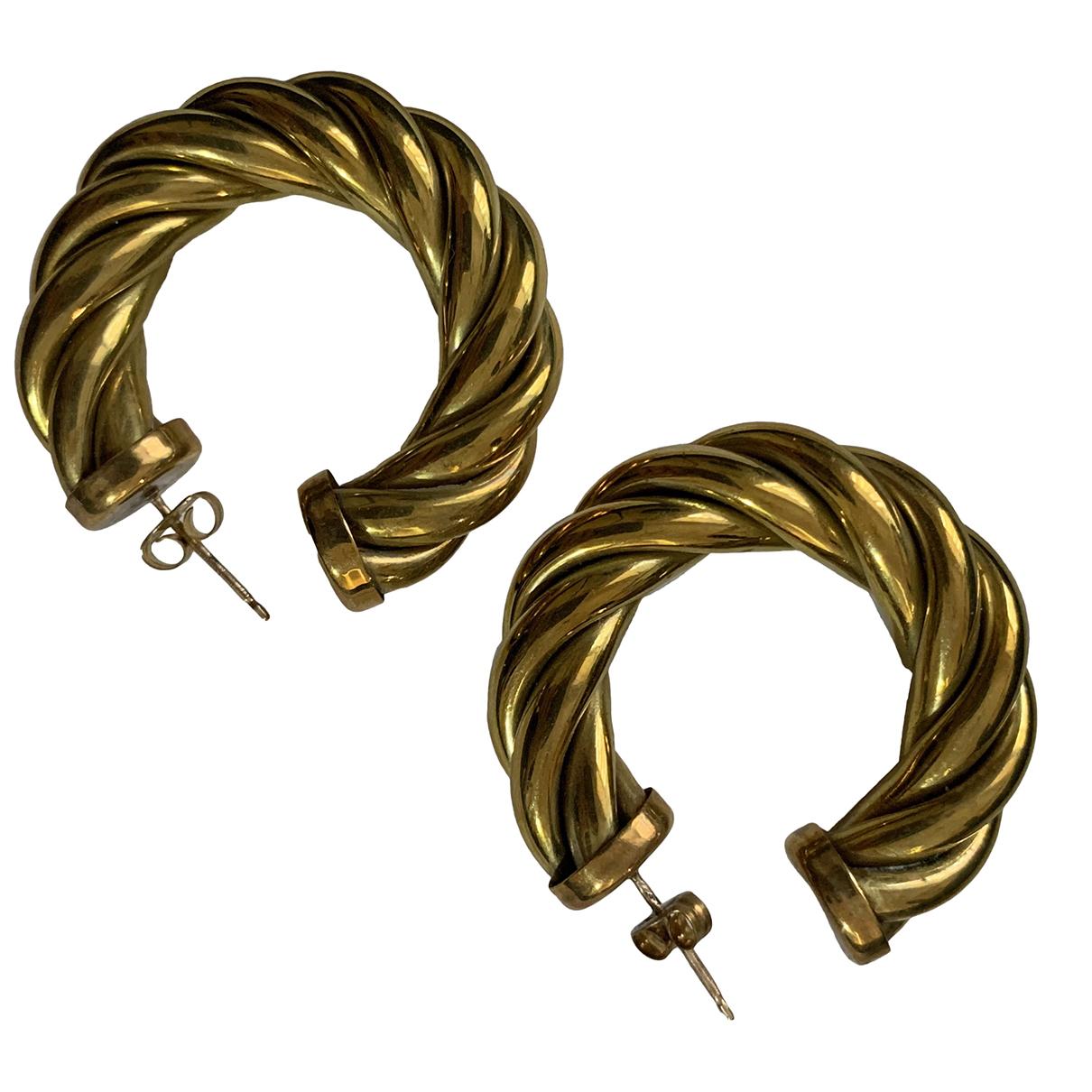 Laura Lombardi \N Gold Metal Earrings for Women \N