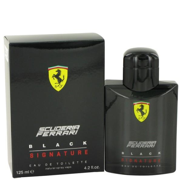 Scuderia Ferrari Black Signature - Ferrari Eau de toilette en espray 125 ML
