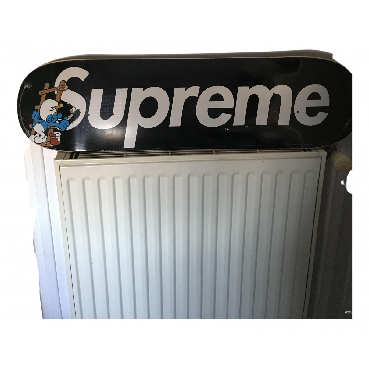 Supreme - Glisse   pour lifestyle en bois - noir