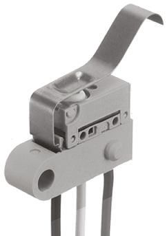Panasonic SPDT Leaf Lever Microswitch, 1 A @ 30 V dc