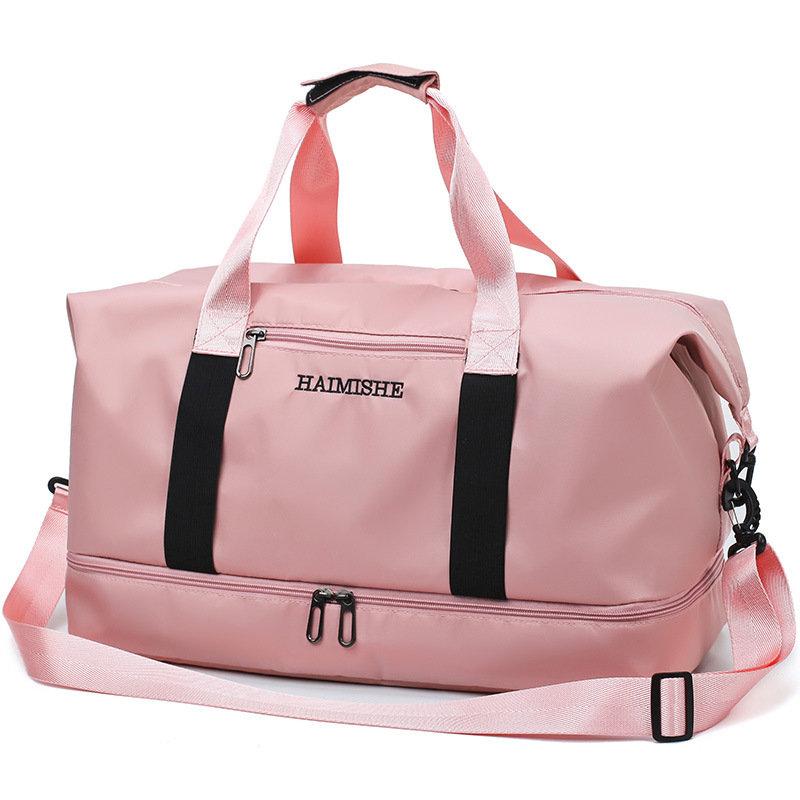 Travel Bag Multi-Function Travel Bag Portable Dry And Wet Separation Duffel Bag Travel Storage Bag