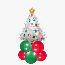 11 piezas set globo de navidad