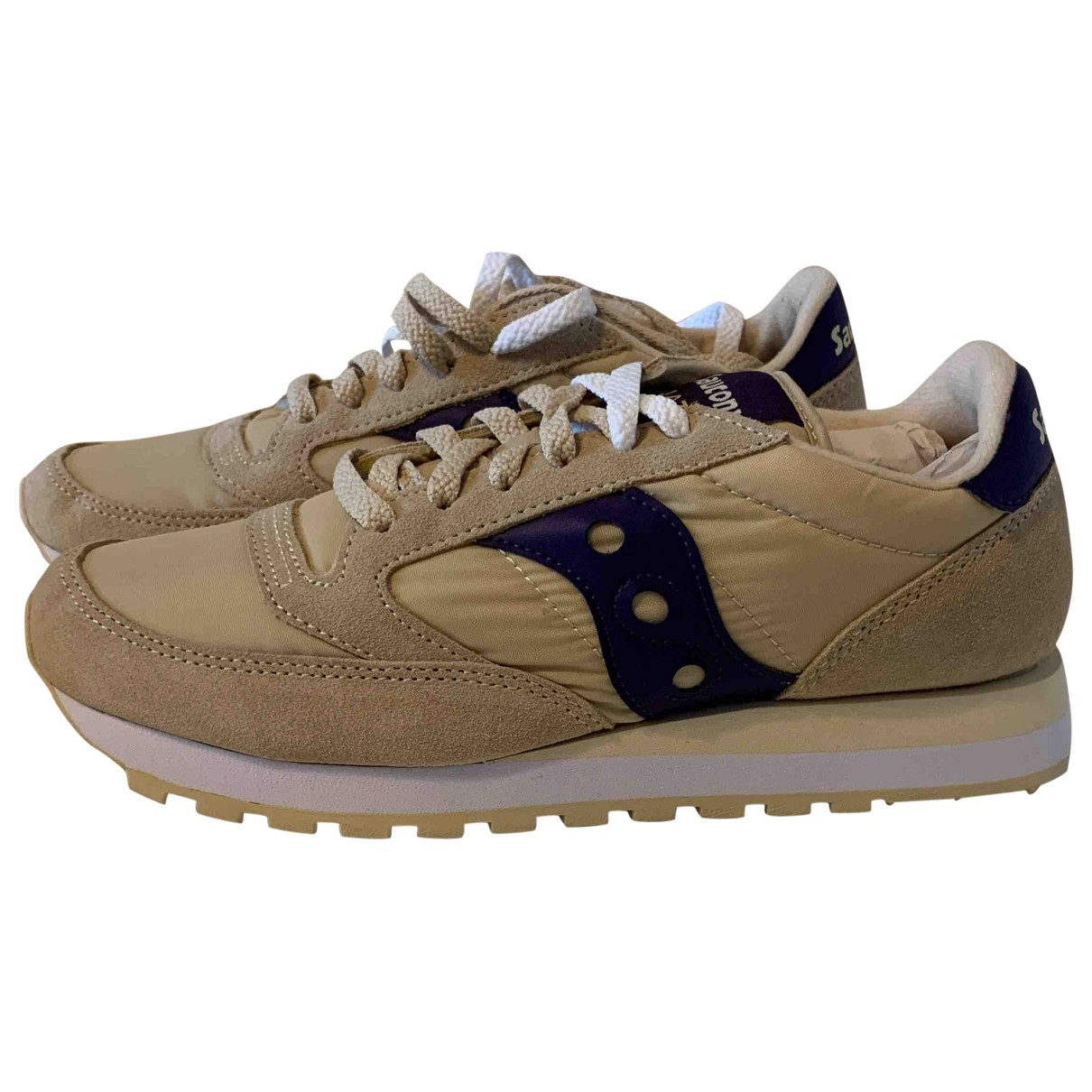 Saucony \N Beige Cloth Trainers for Women 40 EU
