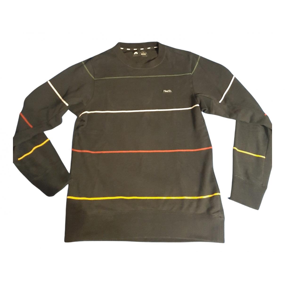 Nike - Pulls.Gilets.Sweats   pour homme en coton - noir