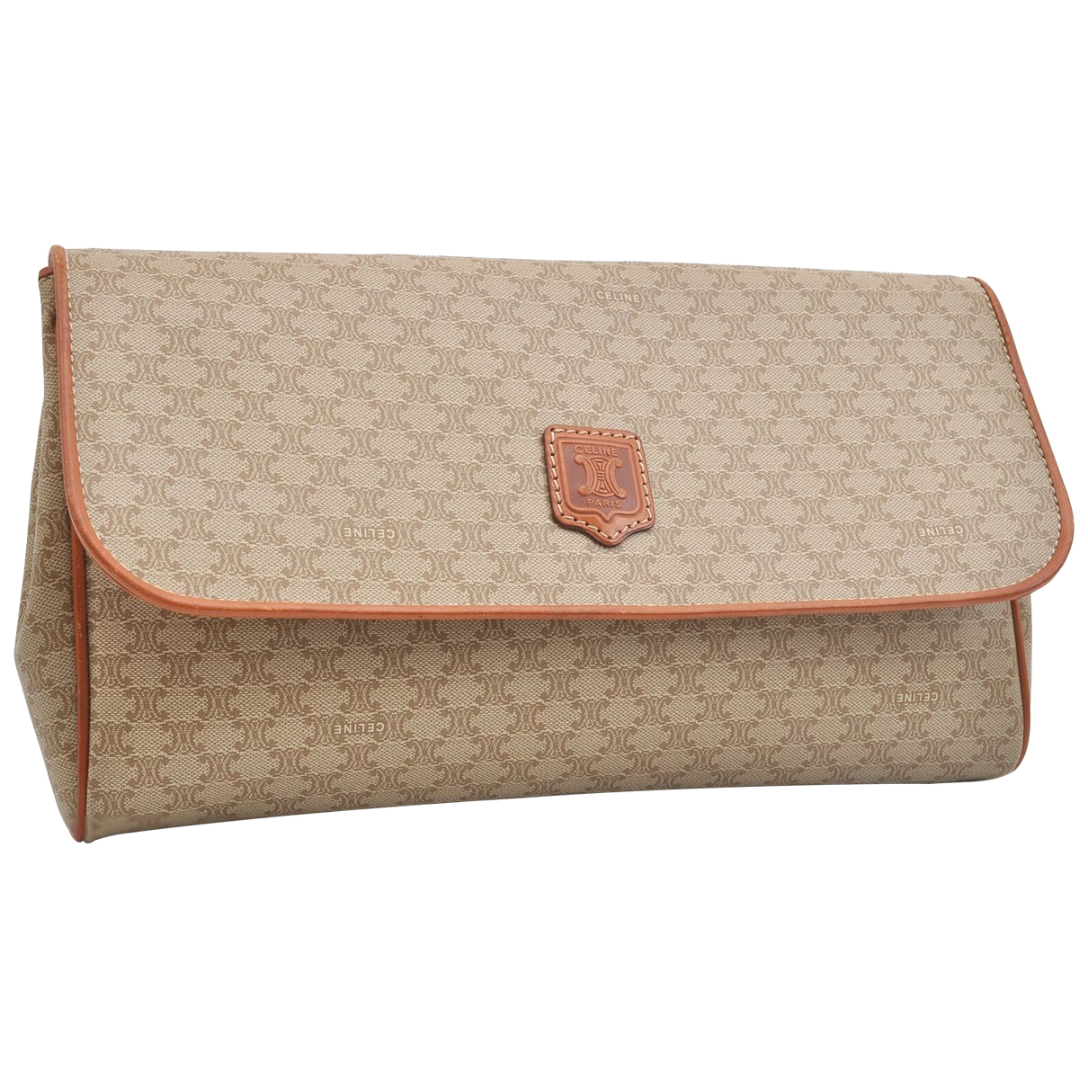 Celine N Beige Leather Clutch bag for Women N
