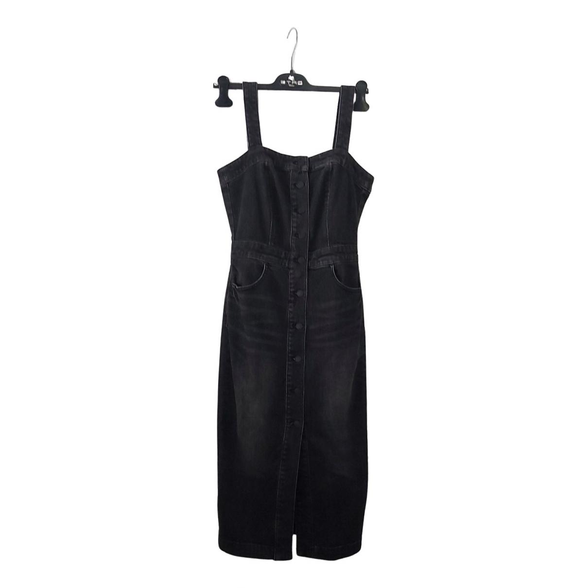 - Robe   pour femme en denim - noir
