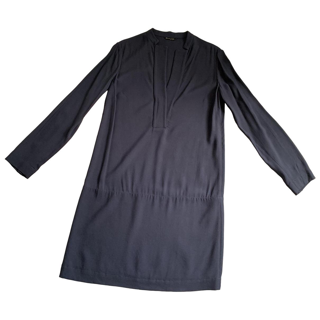 Massimo Dutti - Robe   pour femme - marine