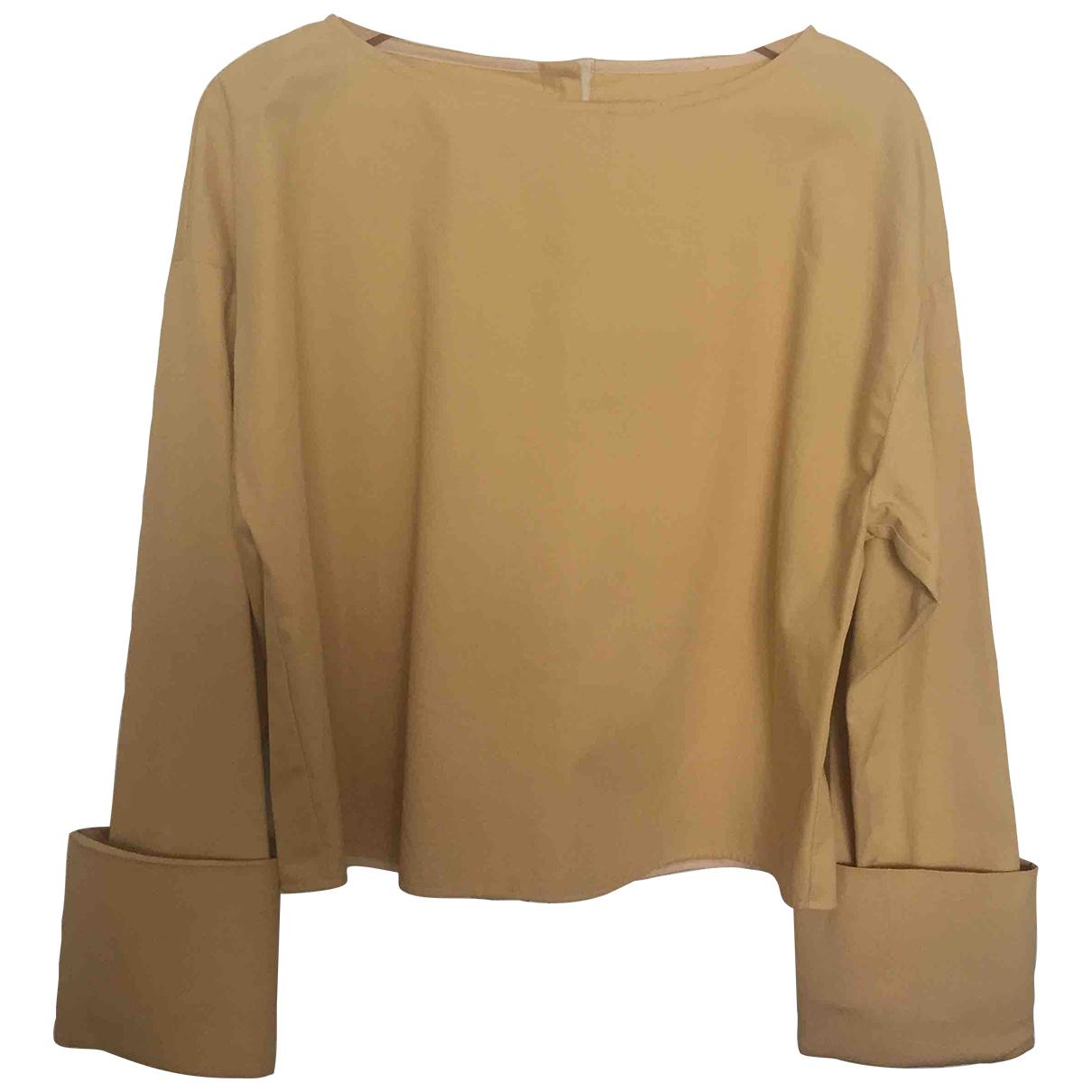 - Top   pour femme en coton - camel