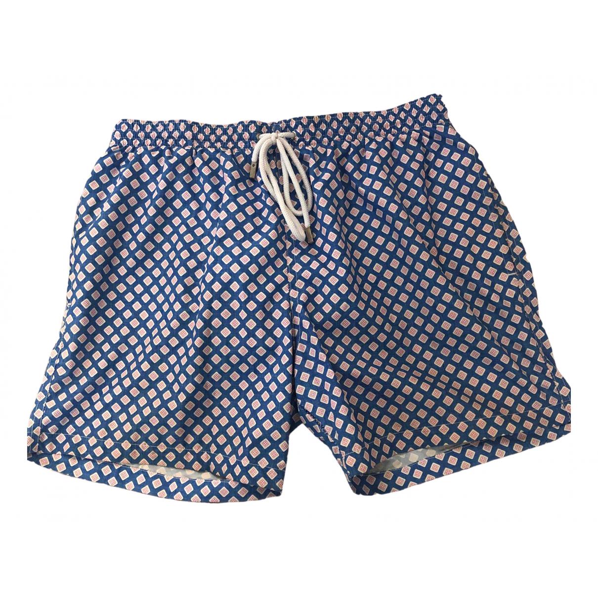 Barba \N Blue Swimwear for Men L International