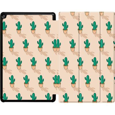 Amazon Fire HD 10 (2017) Tablet Smart Case - Cactus Pot von caseable Designs