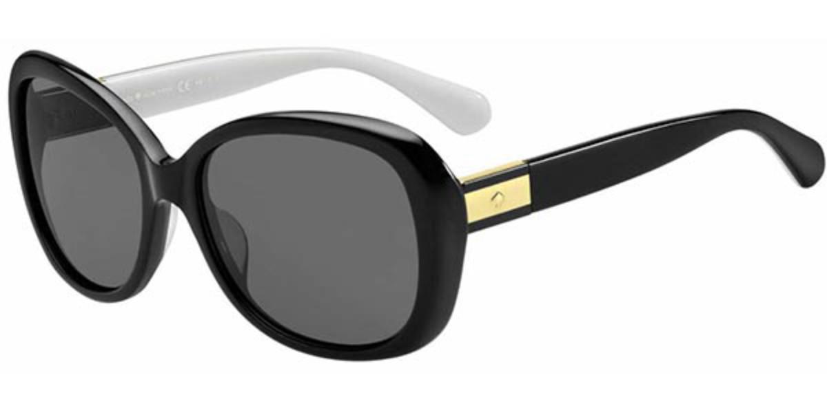Kate Spade Judyann/P/S Polarized 9HT/M9 Women's Sunglasses White Size 56