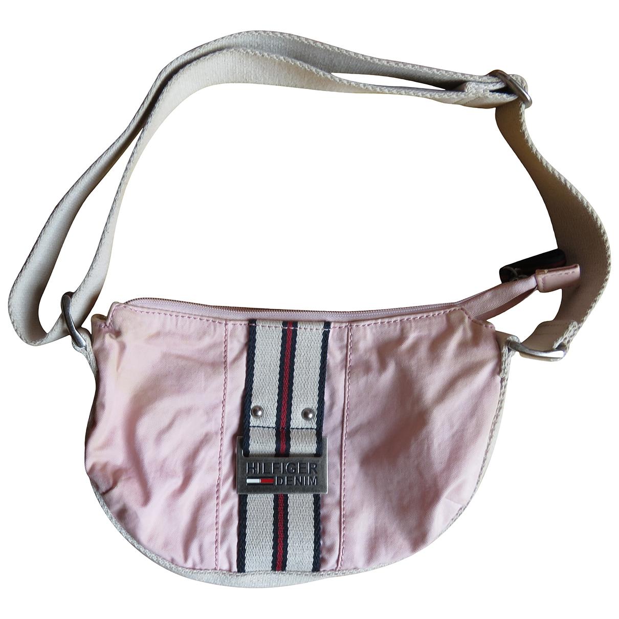 Tommy Hilfiger \N Handtasche in  Rosa Baumwolle