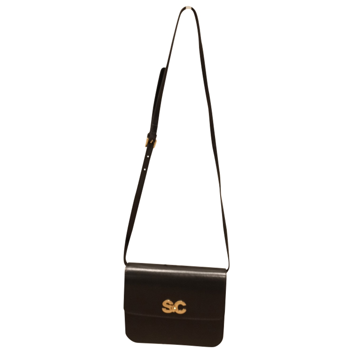 Semicouture \N Black Leather handbag for Women \N