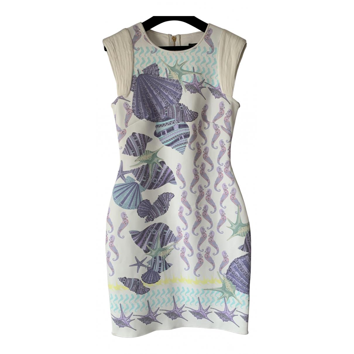 Versace \N Kleid in  Bunt Synthetik
