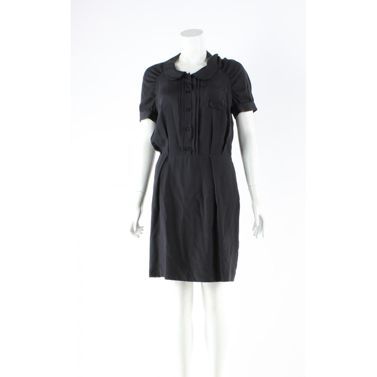 Mulberry - Robe   pour femme en soie - noir