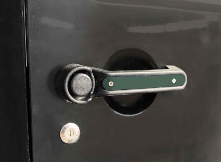 Steinjager J0045434 Door Handle Accent Kit Wrangler JK 2007-2018 1 Pack Locas Green