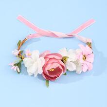 Flower Decor Cat Necklace