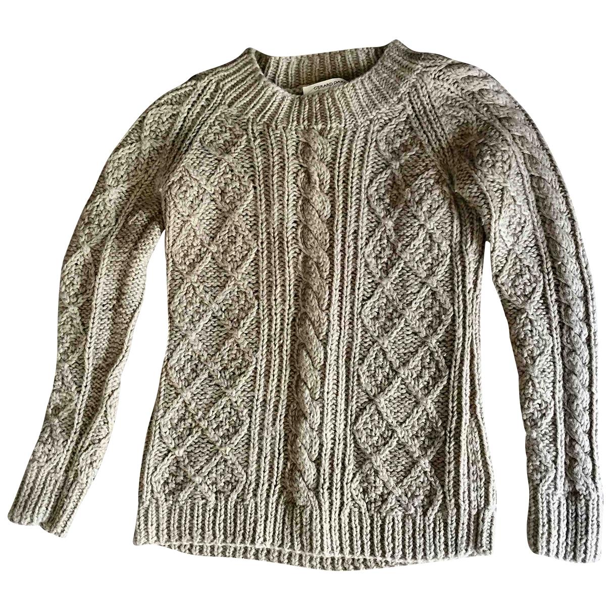 Gerard Darel - Pull   pour femme en laine - beige