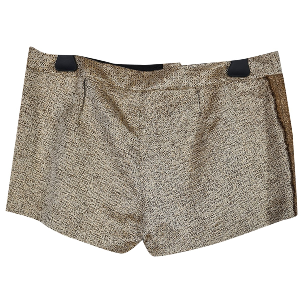 Hoss Intropia \N Shorts in  Gold Polyester