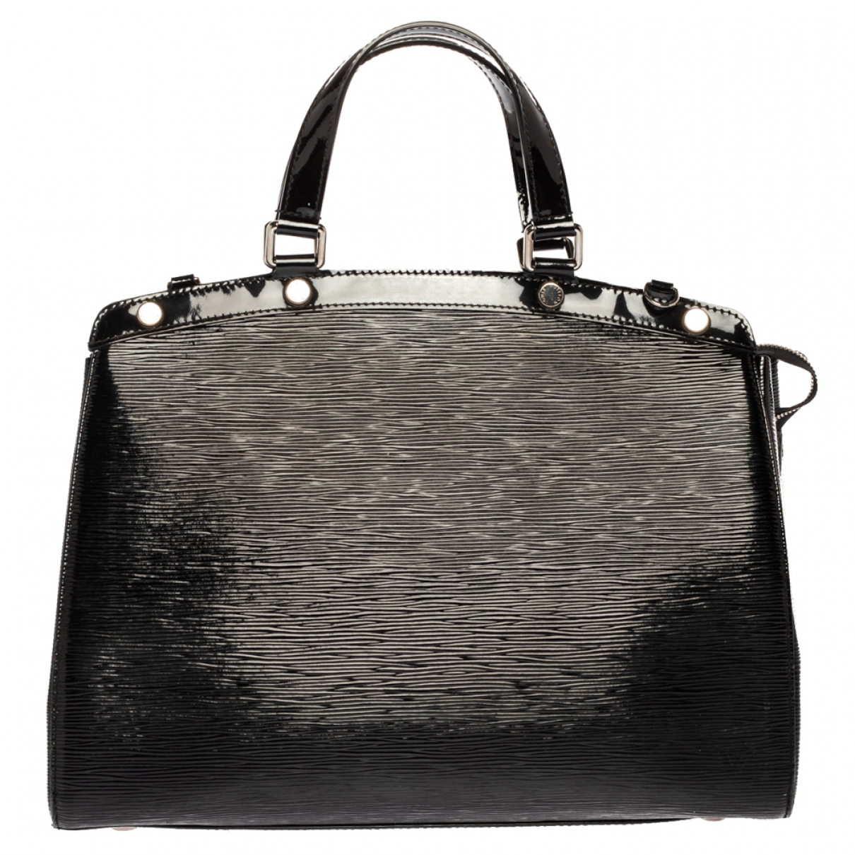 Louis Vuitton Brea Handtasche in  Schwarz Lackleder