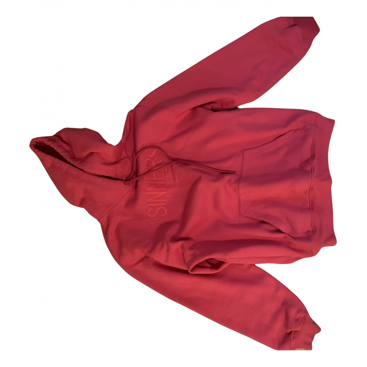 Balenciaga - Pull   pour femme en coton - rouge
