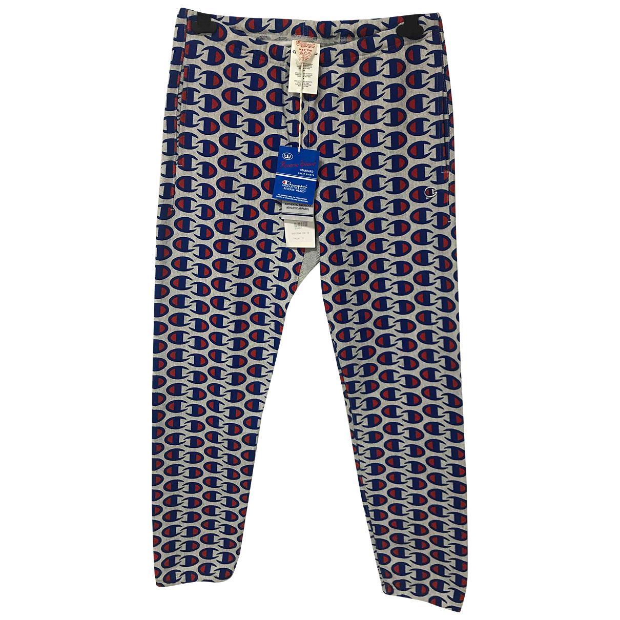 Champion - Pantalon   pour homme en coton - gris