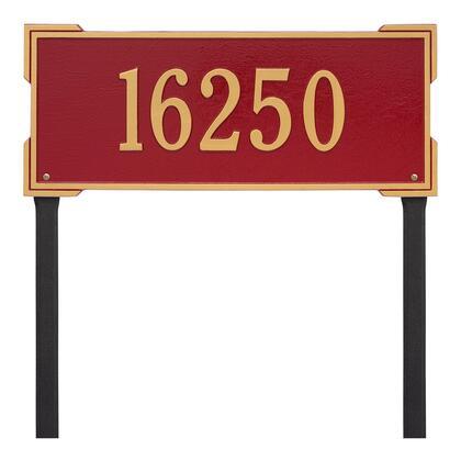 1121RG Personalized Roanoke Plaque - Estate -Lawn - 1 Line in