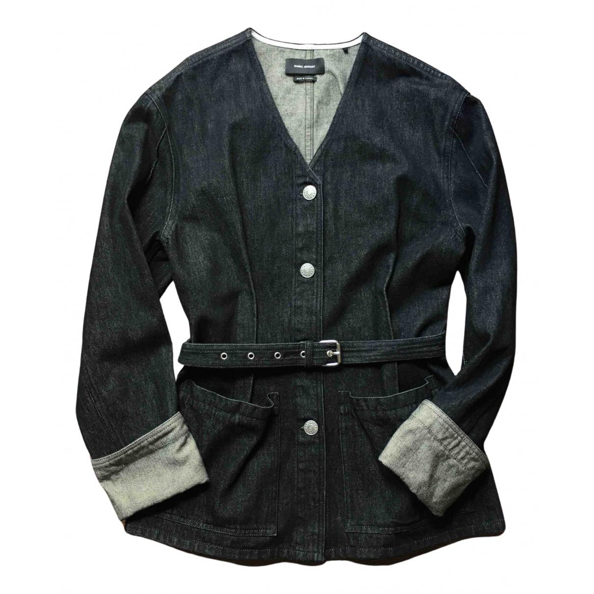 Isabel Marant - Veste   pour femme en denim - noir