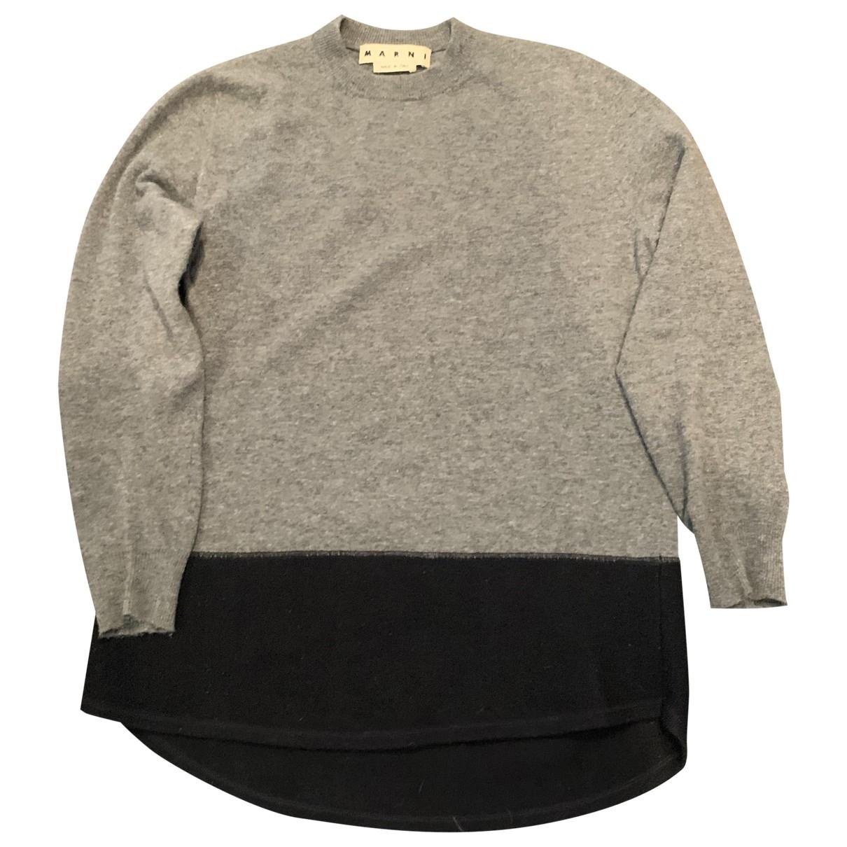 Marni - Pulls.Gilets.Sweats   pour homme en laine - gris