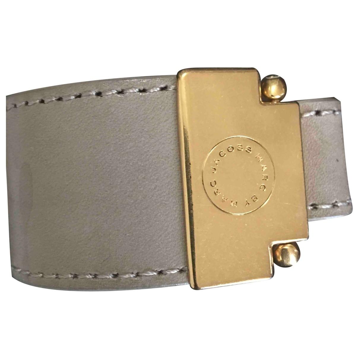 Marc Jacobs \N Beige Leather bracelet for Women \N