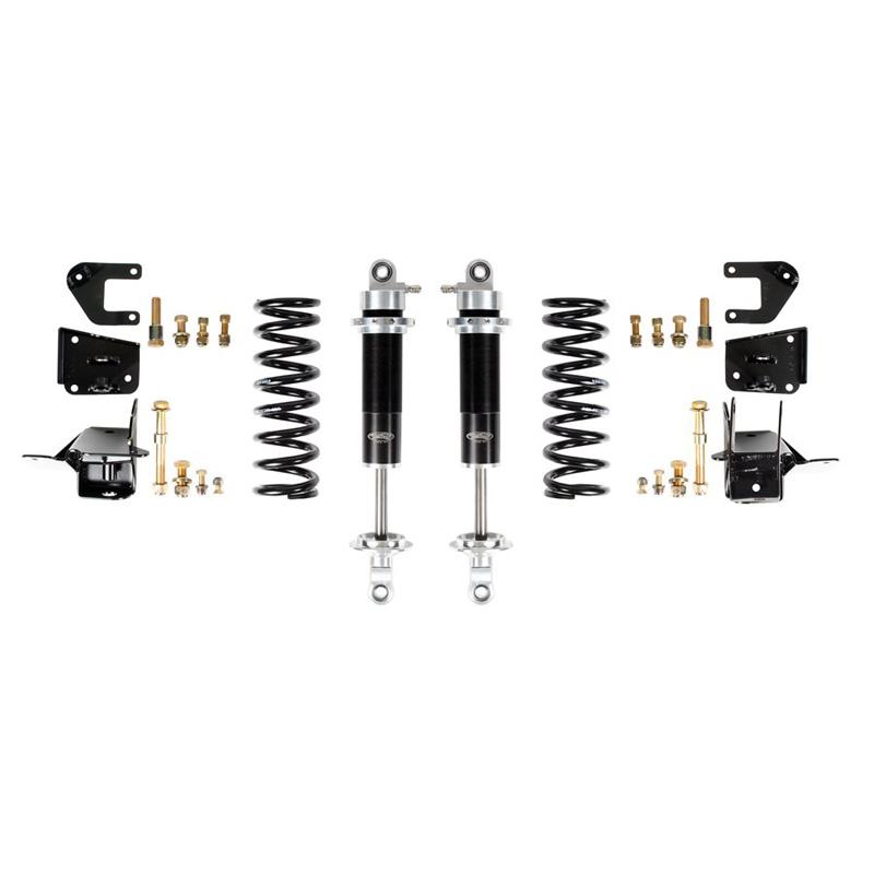 Detroit Speed 42404 64-66 A-Body Rear Coilover Kit Base Shocks Stock Rear Axle