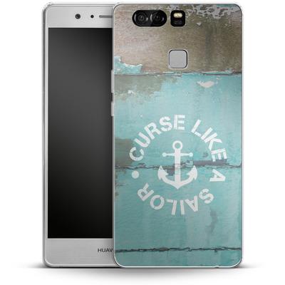 Huawei P9 Silikon Handyhuelle - Curse Like A Sailor von Statements