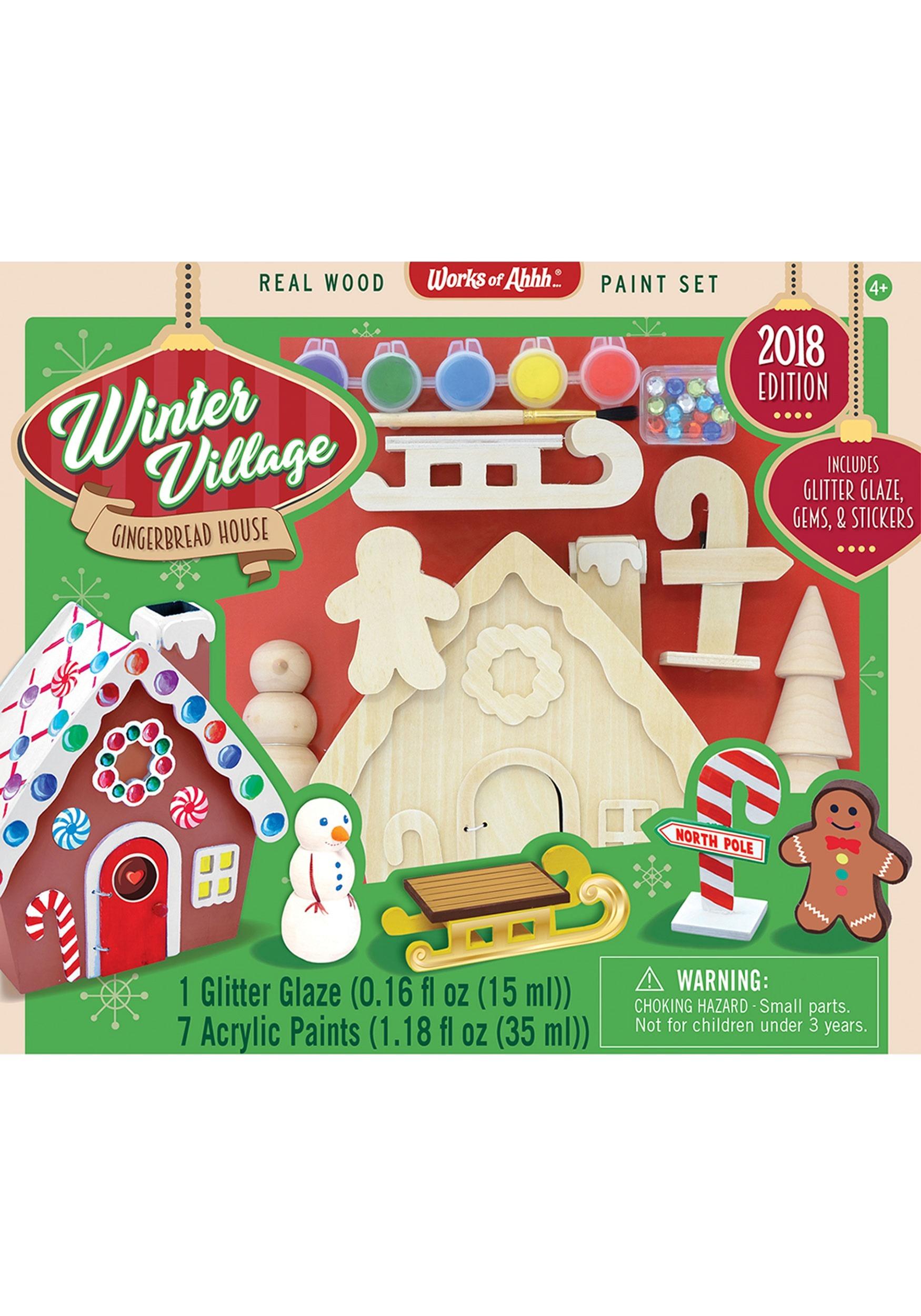 Works of Ahhh Gingerbread Village