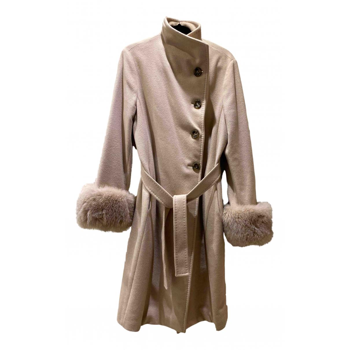 Max Mara N Camel Wool coat for Women 14 UK