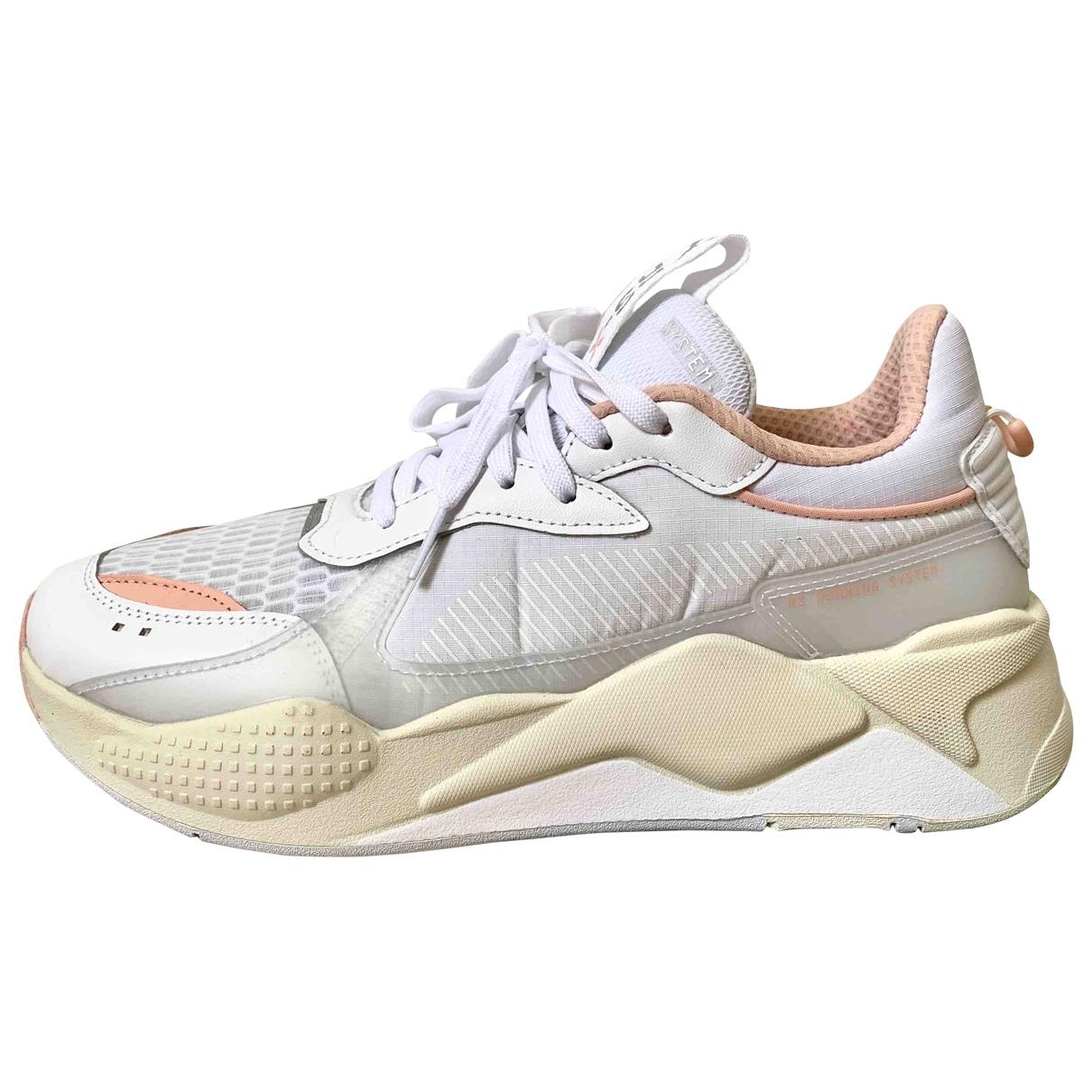 Puma \N White Cloth Trainers for Women 41 EU