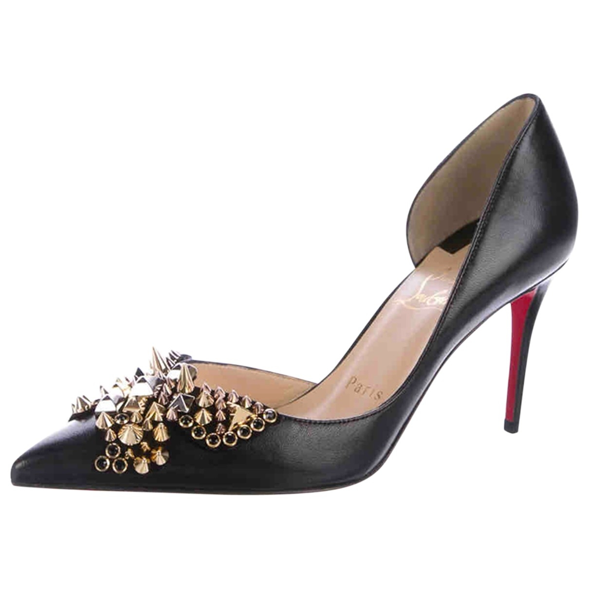 Christian Louboutin Iriza Pumps in  Schwarz Leder