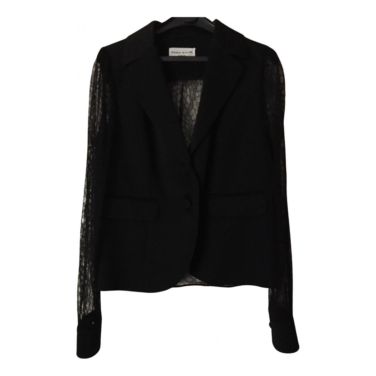 Sonia Rykiel N Black jacket for Women 42 FR
